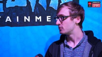 IEM Katowice - Vi møtte Sam Braithwaite fra Blizzard
