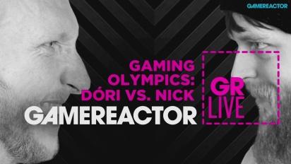 Gaming Olympics: Dori vs. Nick - Livestream Replay