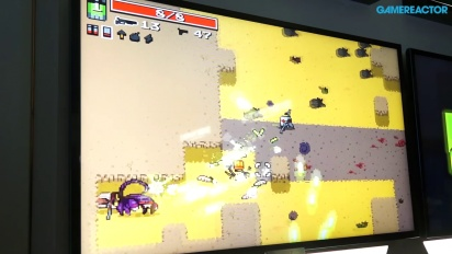 E3 2014: Nuclear Throne - Gameplay