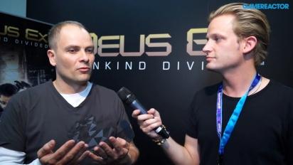 Deus Ex: Mankind Divided - Gameplay Director-intervju