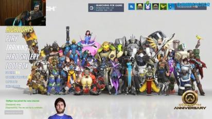 Vi feirer ett år med Overwatch