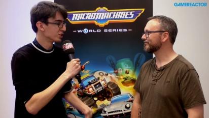 Vi snakker Micro Machines World Series med skaperen