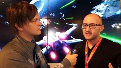 Star Wars Battlefront - Paul Keslin-intervju