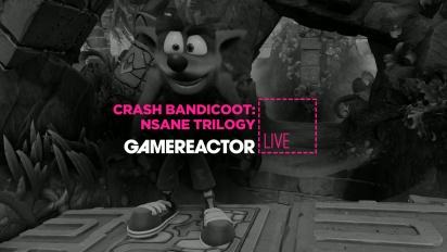 Crash Bandicoot: Nsane Trilogy på PC - Livestream-reprise
