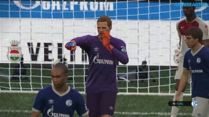 Pro Evolution Soccer 2019 - Schalke 04 vs Monaco 4K Gameplay