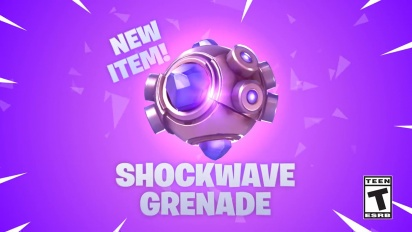 Fortnite - Shockwave Grenade Trailer