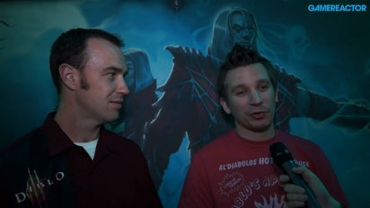 Diablo III: Rise of the Necromancer - Rob Foote & Matthew Berger-intervju