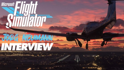 Microsoft Flight Simulator - Jorg Neumann Interview