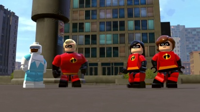 Lego The Incredibles - Crimewaves Gameplay Trailer