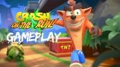Crash Bandicoot: On the Run! - Gameplay