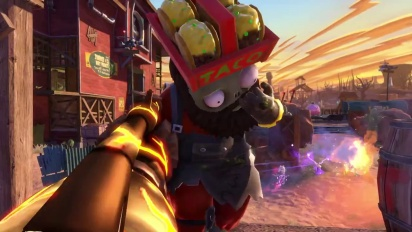 Plants vs. Zombies: Garden Warfare - Official Playstation Trailer
