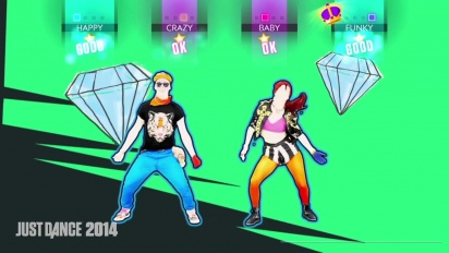 Just Dance 2014 - Far East Movement Turn Up the Love Gameplay