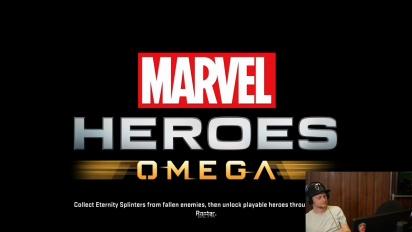 Vi spiller Marvel Heroes Omega #2