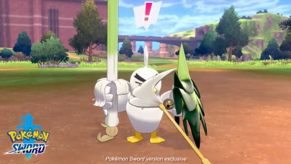 Pokémon Sword - Meet Sirfetch'd