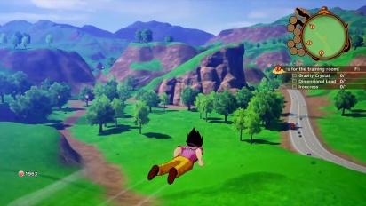 Dragon Ball Z: Kakarot - Vegeta TGS Gameplay