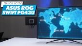 ASUS ROG Swift PG43UQ - Quick Look