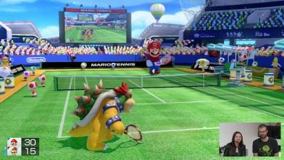 Mario Tennis Ultra Smash - Nintendo Treehouse E3 2015 Gameplay