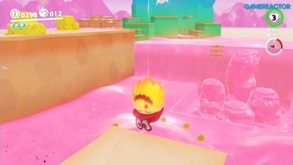 Super Mario Odyssey - Luncheon Kingdom-gameplay 1
