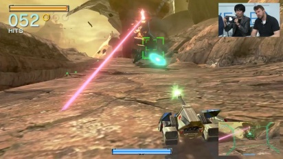 Star Fox Zero - Nintendo Treehouse E3 2015 Gameplay II