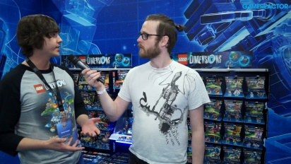 Lego Dimensions: Year Two - James Burgon-intervju