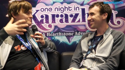 Hearthstone - One Night in Karazhan - Peter Whalen-intervju