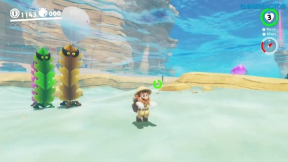 Super Mario Odyssey - Seaside Kingdom-gameplay - Del 1