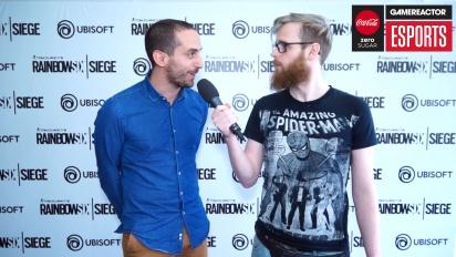 Rainbow Six Pro League Season 3 finals - intervju med François-Xavier Dénièle