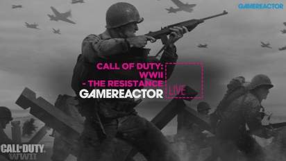 Call of Duty: WWII - The Resistance - Livestreamreprise