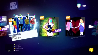 Just Dance 2014 - Song List Menu Trailer