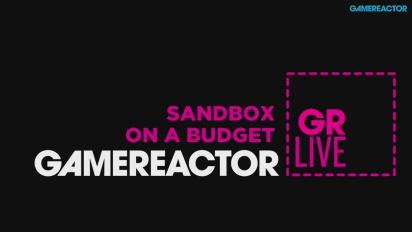 GRTV Live: Sandkasser med budsjett