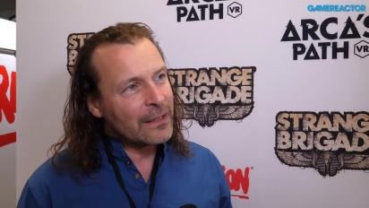 Strange Brigade - Jason Kingsley-intervju