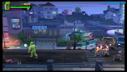 Shaq Fu: A Legend Reborn - Nintendo Switch gameplay