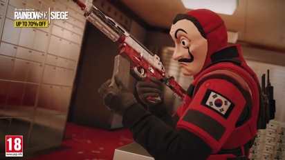 Rainbow Six: Siege - Free Weekend La Casa de Papel
