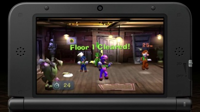 Luigi's Mansion 2 - Multiplayer Trailer: Hunter Mode