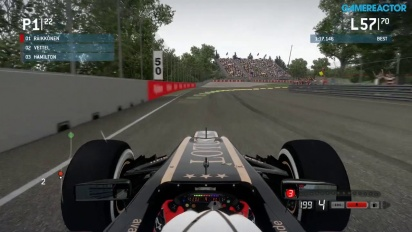 Gameplay: F1 2013 - Canadian Grand Prix