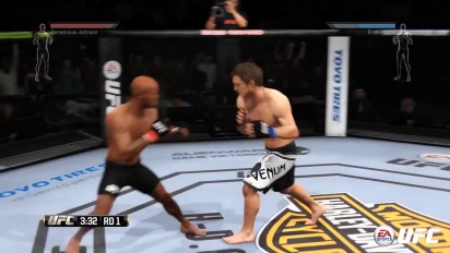 EA Sports UFC - Rio Ferdinand Tackles The UFC Trailer