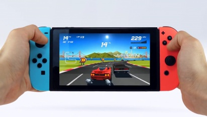 Horizon Chase Turbo - Nintendo Switch Trailer