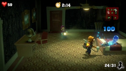 Luigi's Mansion 3 - Nintendo Treehouse E3 2019 Gameplay Pt. 2