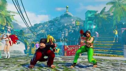 Street Fighter V - Laura Reveal Trailer