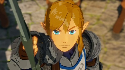 Hyrule Warriors: Age of Calamity - A story 100 years before The Legend of Zelda: Breath of the Wild Trailer