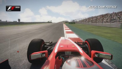 F1 2013 - Korea Hotlap Trailer