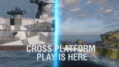 World of Warships: Legends - Cross Play Trailer