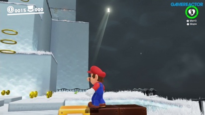 Super Mario Odyssey - Cap Kingdom-ameplay