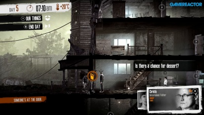 This War of Mine - Nintendo Switch Gameplay