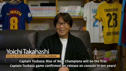 Captain Tsubasa: Rise of New Champions - Creator Message