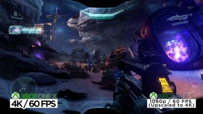 Halo 5: Guardians - Vi sammenligner Xbox One X- og Xbox One S-utgavene