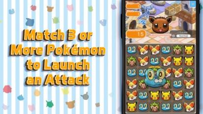 Pokémon Shuffle Mobile - Test Your Puzzle Skills Trailer