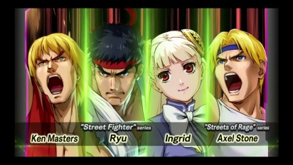 Project X Zone 2 - New York Comic Con Trailer