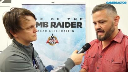 Rise of the Tomb Raider - William Kerslake-intervju