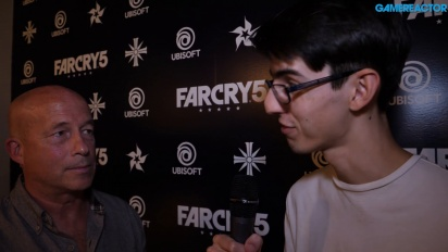 Far Cry 5 - Tony Gronick-intervju